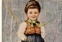 Vintage ~ Hollandse Kinderen