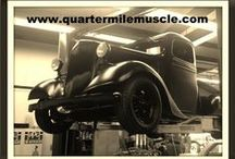 Cool Cars & Trucks / Quarter Mile Muscle Inc. is located in Mooresville, North Carolina. Here we specialize in Automotive Restorations and Custom Painting.