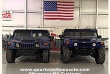 Hummer / Custom Hummer's by Quarter Mile Muscle Inc. (704)664-9544 We specialize in Automotive Restorations and Custom Painting. Email us at www.quartermilemuscle.com/contact-us/