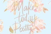 Citations inspirantes / Les phrases qui nous inspirent, nous touchent, nous font sourire...