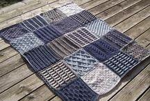 afghans / blankets knitting patterns