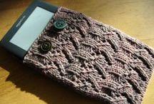 kindle/iPad/phone case knit/sewn