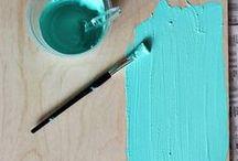 DIY / diy, do it yourself, art, ideas, interior design, paint, ideas