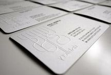 Business cards / The most amazing, creative and unique business cards from professional graphic designers wordwide. All to inspire you.