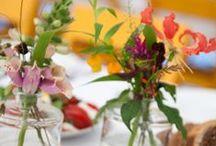 Bloemen / Voorbeelden van wat je met bloemen kan doen op je bruiloft