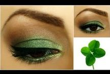 St. Patricks Day Looks / Whether its nails or lashes, get your inspiration here for St. Patricks Day! Tag #SalonPerfect
