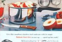Ekco Cookware / Magazine Advertisements featuring Ekco Cookware! Enjoy these vintage ads! And remember to visit www.magazine-advertisements.com to view, download, or print the Full-Size image! / by Advertisement Gallery