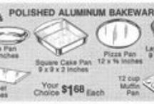 Mirro Bakeware / Magazine Advertisements featuring Mirro Bakeware! Enjoy these vintage ads! And remember to visit www.magazine-advertisements.com to view, download, or print the Full-Size image! / by Advertisement Gallery