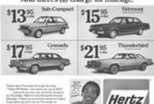 Car Rental Companies / Magazine Advertisements featuring Car Rental Companies! Avis, Hertz and more! Enjoy these vintage ads! And remember to visit www.magazine-advertisements.com to view, download, or print the Full-Size image! / by Advertisement Gallery