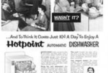 Hotpoint Dishwashers / Magazine Advertisements featuring Hotpoint Dishwashers! Enjoy these vintage ads! And remember to visit www.magazine-advertisements.com to view, download, or print the Full-Size image! / by Advertisement Gallery