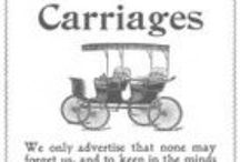 Carriages and Wagons / Magazine Advertisements featuring Carriages and Wagons! Enjoy these vintage ads! And remember to visit www.magazine-advertisements.com to view, download, or print the Full-Size image! / by Advertisement Gallery