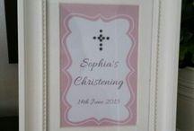 Sophia's Christening / Girls Christening