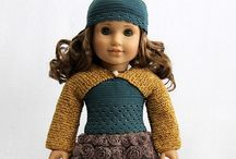 American girl / Dress doll