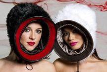 Hats ideas \\ необычные шапки / Ideas for headwear. Дизайн головных уборов. Идеи необычных шапок.