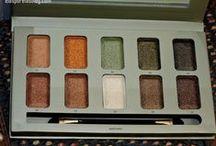 Olhos / Produtos de maquiagem para os olhos, principalmente paletas e sombras