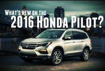 New, 2016 Honda Pilot / We can't wait to get the new 2016 Honda Pilot in stock at O'Neill Honda in early spring!