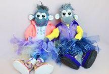 toys and dolls\\ игрушки и куклы / Необычные мягкие игрушки и текстильные куклы: выкройки, мастер-классы, идеи! /unusual soft toys and textile dolls for DIY