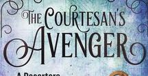 The Courtesan's Avenger (Desertera #2) / The inspiration board for the sequel to The Cogsmith's Daughter.