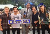Good Morning America 2015--> 1D Concert / Board for the Mini Concert at Good Morning America 2015