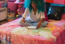 Colouring hair / Hair colour