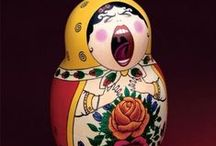 matrioshka \ babushka (russian style) / everything with russian matrioshkas (babushkas): traditional and modern art
