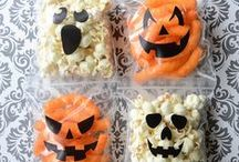 Spooky Lunch Ideas / Great Halloween lunch ideas, for kids and grown ups.