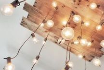 Let there be light! / lights, lamps, christmas lights, ideas, light fixtures