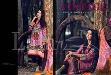 Vintage Winter Shawl Collection / Vintage Embroidered.·  With Exclusive Shawl, Shop Now at www.lala.com.pk    Price @PKR 4,450/- 3 Piece