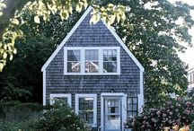 Tiny houses / I am dreaming of a datsja in green surroundings