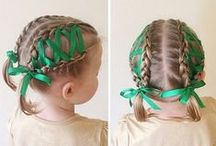 toddler hairstyle \ прически для малышей / Creative hairstyles for toddlers.