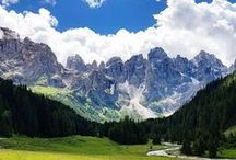 Italian Alps / Nature is beautiful and food is tasty in the Italian Alps.