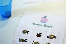 Time & Money Activities / Fun, interactive ways to build ideas of time and money in elementary.