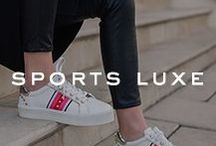 TREND | Sports Luxe / Explore the range of sports inspired shoes to upgrade your athleisure wardrobe.