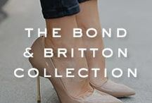 STYLE | The Bond & Britton Collection / Explore our range of Bond and Britton heels, a signature heel brought to you by Kurt Geiger. The iconic pin heel comes in a number of beautiful patterns and styles, ideal for completing a flawless look.