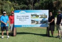 2014 14th Annual Golfing for Easter Seals Tournament / Check out this years pictures from the 14th Annual Golfing for Easter Seals Tournament. Anlin has been a proud sponsor for many years and our employees enjoy participating for a great cause!