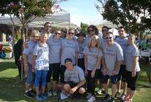 2014 Easter Seals Walk With Me / Lots of Anlin Employees stepped up to raise awareness and support for families living with disabilities at the 2014 Easter Seals Walk With Me challenge. This years walk was dedicated to the memory of our beloved Grandpa Tom.