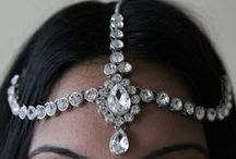 Head chain, tikka, hair accessary