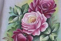 └──❥ Pintura em tecidos e outros ♥..♥ / by Eloir Arcangelo