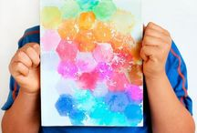 Must try art projects for kids / Let's get creative with these fun art ideas for kids! Learn to draw, explore different forms creative processes and more.