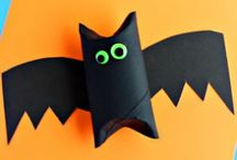 Halloween Crafts and Activities for Kids / Lots of easy and fun activities and crafts for kids to make! Spooky fun for the whole family.