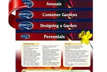 Gardening & DIY Quick Reference Guides / Permacharts quick reference guide on home, gardening and DIY projects