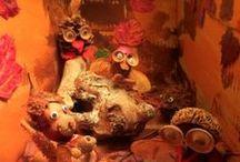 kijkdozen en 3D schilderijen / Kijkdozen en schilderijtjes of stillevens met dieptewerking.