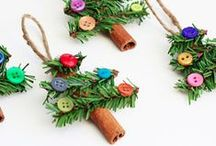 Jolly Christmas Crafts for Kids / This the season to be jolly :) fun Christmas crafts and activities for kids, easy ideas for the whole family to make!