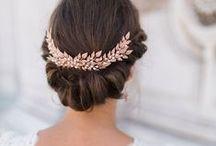 Wedding Bridal Hairstyles / Wedding Inspiration for Bridal Hairstyles