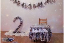 2 year old birthday party ideas / Newspapers Boy Birthday, DIY Party, 2 year old birthday party ideas