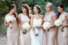 Wedding Bridesmaids / Wedding Bridesmaid Inspiration - from dresses, to shoes and accessories.