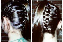 Mis peinados / Peinado fáciles hechos por mi y creados para él día a día o para ocasione especiales