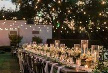 WEDDING decoration & styling / Hochzeit & Wedding preparation ... Inspiration & ideas for decoration a bohemian, natural wedding ...