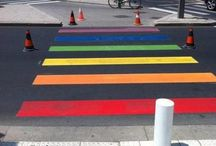 Roads and street art