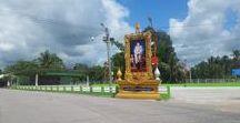 Thailand Asien Districte Citys / Thailand thailändische Eindrücke, Thailand Land und Leute. Thailand, Städte, Straßen, Umland, City, Districte, Distrikte.